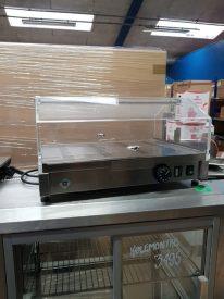 Varmemontre RM gastro, med plexiglasdøre, brugt