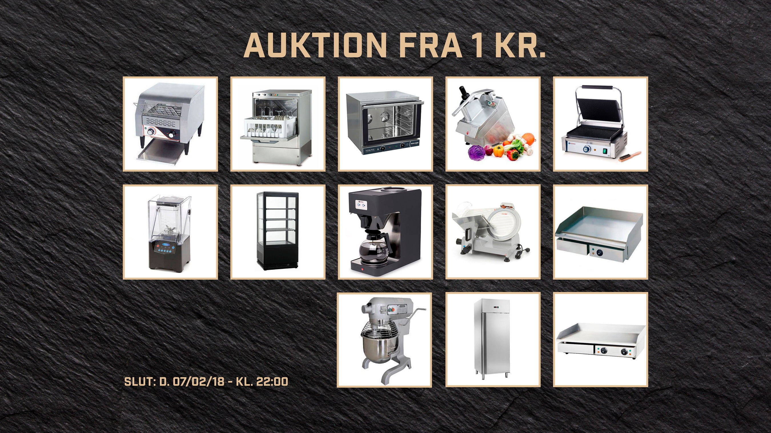 ea18d65dcea Auktioner fra 1 kr. på udstyr fra Cateringinventar.dk - Cateringinventar.dk