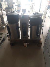 Kaffebrygger fra Animo med 2 søjler, brugt