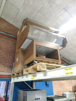 Varmebuffet 3gn i lys trælook, BRUGT 1 mdr til udlejning