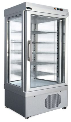 Frysemontre / fryseskab XL fra Afinox, statisk eller ventileret