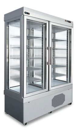 Kølemontre fra Afinox dobbelt, statisk eller ventileret