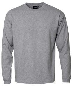 """Kentaur """"Pro Wear"""" langærmet T-shirt i grå melange, Flere størrelser"""