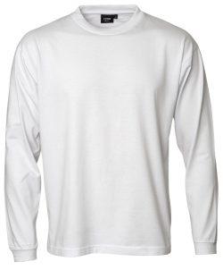 """Kentaur """"Pro Wear"""" langærmet T-shirt i hvid, Flere størrelser"""