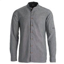 Kentaur Serveringsskjorte, Denim-look, Lys