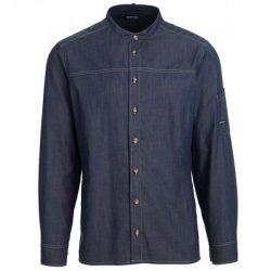 Kentaur Serveringsskjorte, Denim-look, Mørk