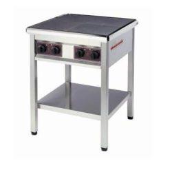 Kogebord 300x300 mm varmeplader til el - flere størrelser
