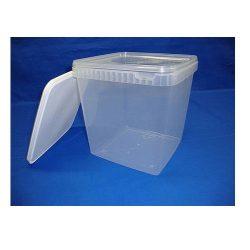 Plastbøtte 5000 ml, stabelbar og fødevaregodkendte, 5548DTE