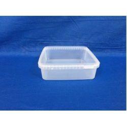 Plastbøtte / låg firkantet 5541, Fryseegnet 1500 ml