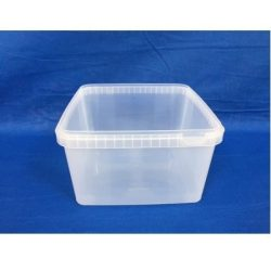 Plastbøtte / låg firkantet 5544 Fryseegnet 3000 ml