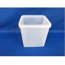 Plastbøtte / låg firkantet 5548 Fryseegnet 5000 ml