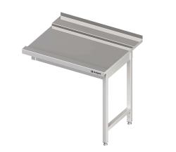 Tørrebord m/ krog & bane til opvaskebakker, 70 x 75 cm, Stalgast DAL07702
