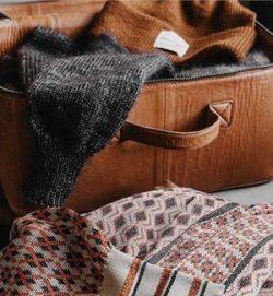 Mars, hård version - Håndlavet læder taske